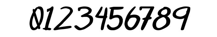 Otaku Rant Bold Italic Font OTHER CHARS