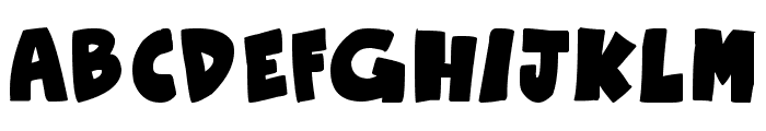 Otaku Rant Bold Font LOWERCASE