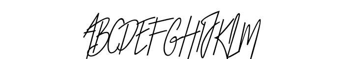 Otella Font UPPERCASE