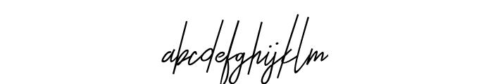 Otella Font LOWERCASE