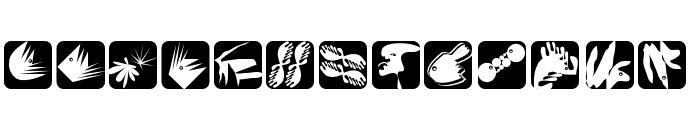 OtherShapes Font LOWERCASE