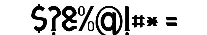 Otrebla Font OTHER CHARS