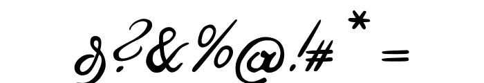 OttilieU1AY Font OTHER CHARS