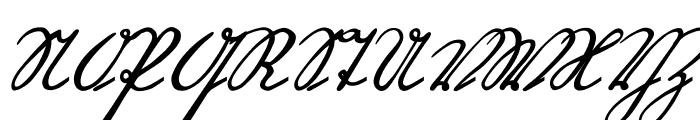 OttilieU1AY Font UPPERCASE