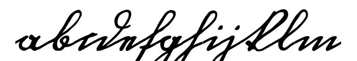 OttilieU1AY Font LOWERCASE