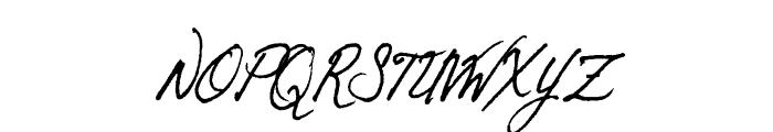 Otto Font UPPERCASE