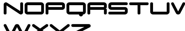 Otomo Round Font UPPERCASE