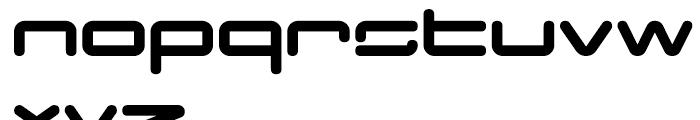 Otomo Round Font LOWERCASE