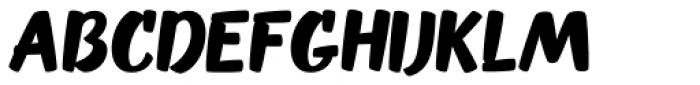 OT Puppy Bold Font UPPERCASE