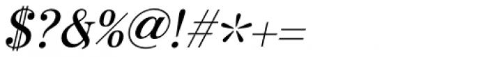 Otama Italic Font OTHER CHARS
