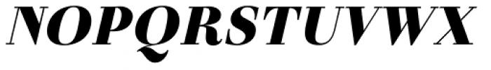 Otama UltraBlack Italic Font UPPERCASE