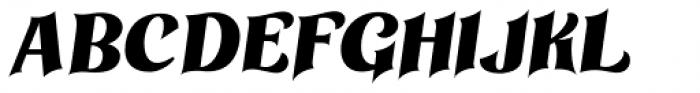 Othelie Italic Font UPPERCASE