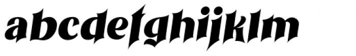 Othelie Italic Font LOWERCASE