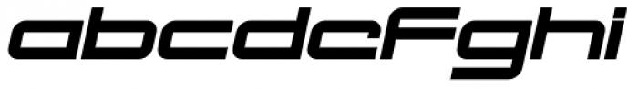 Otomo Italic Font LOWERCASE