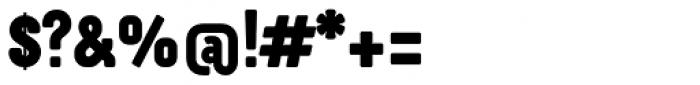 Otsu Sans Heavy Font OTHER CHARS