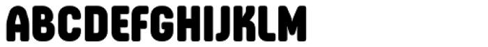 Otsu Sans Heavy Font UPPERCASE
