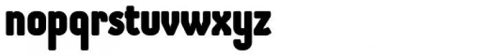 Otsu Sans Heavy Font LOWERCASE