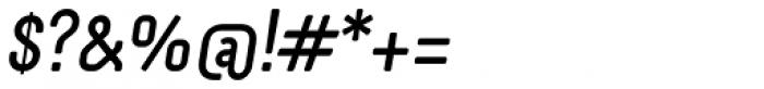 Otsu Sans Medium Italic Font OTHER CHARS