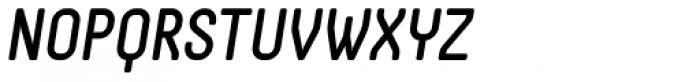 Otsu Sans Medium Italic Font UPPERCASE
