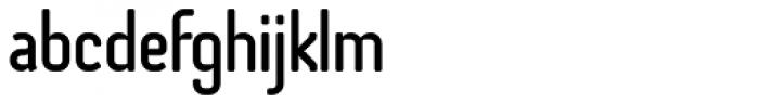 Otsu Sans Medium Font LOWERCASE
