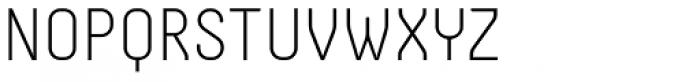 Otsu Sans Thin Font UPPERCASE