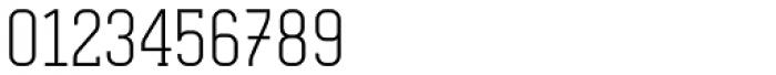 Otsu Slab Thin Font OTHER CHARS