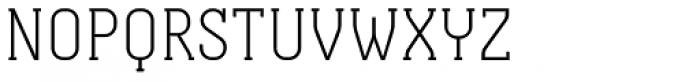 Otsu Slab Thin Font UPPERCASE