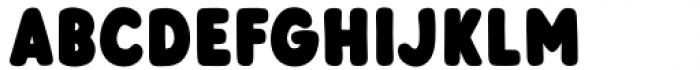 Otter Bold Font LOWERCASE