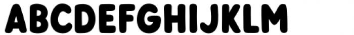 Otter Semi-Bold Font UPPERCASE