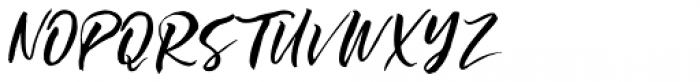 Ottmar Bold Script Font UPPERCASE