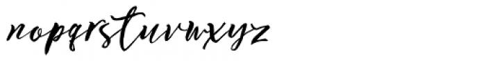 Ottmar Bold Script Font LOWERCASE