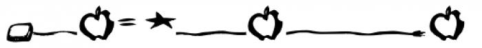 Ottofont Border Font LOWERCASE