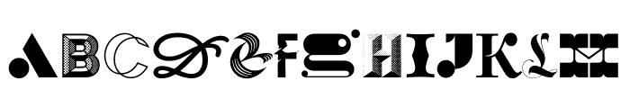 36 Days Regular Font UPPERCASE