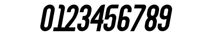 Abraham Italic Font OTHER CHARS
