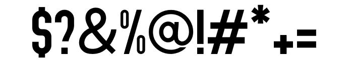Abraham Regular Font OTHER CHARS