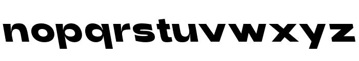 Adieu Black Backslant Font LOWERCASE