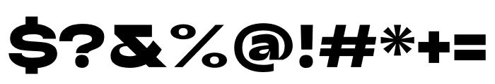 Adieu Black Font OTHER CHARS
