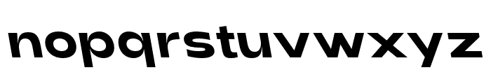 Adieu Bold Backslant Font LOWERCASE
