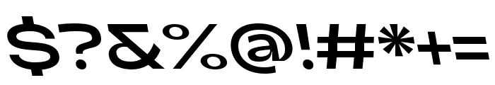 Adieu Regular Backslant Font OTHER CHARS