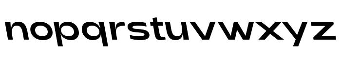 Adieu Regular Backslant Font LOWERCASE