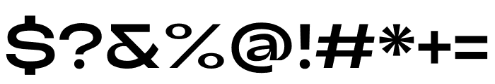 Adieu Regular Font OTHER CHARS