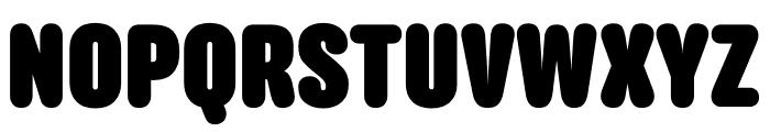 Anchor Black Font UPPERCASE