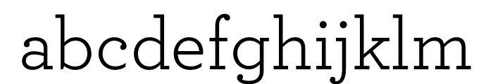 Archer Book Font LOWERCASE