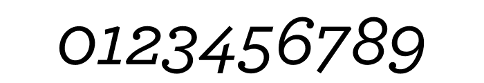 Archer Medium Italic Font OTHER CHARS