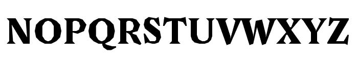 Avara Black Font UPPERCASE