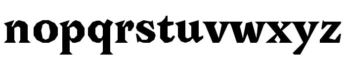 Avara Black Font LOWERCASE