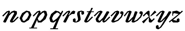 Avara Bold Italic Font LOWERCASE