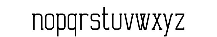 Ballege Regular Font LOWERCASE