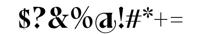 Bluu Next Titling Font OTHER CHARS