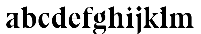 Bluu Next Titling Font LOWERCASE